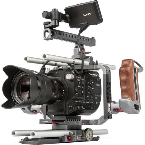 TILTA社・ES-T07-A・SONY FS5,  Panasonic GH5他各種DSLR, BMD BMCC/BMPC用カメラリグキット