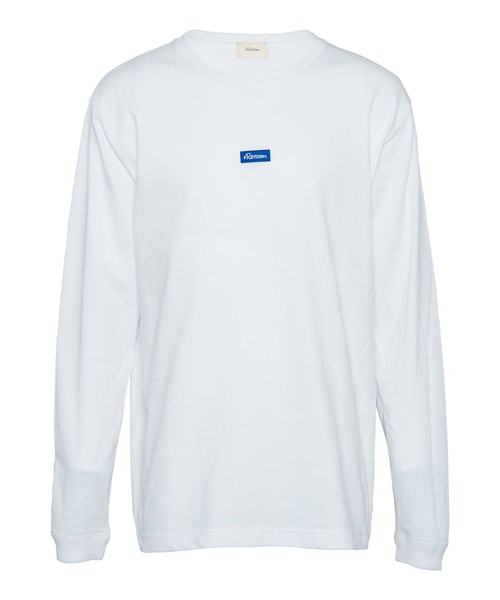 RUBBER WAPPEN LOGO LONG SLEEVE[REC321]