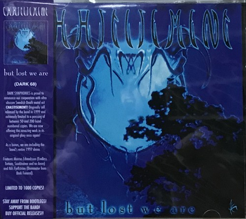 """CHASTISEMENT """"...But Lost We Are + Demo 1997 Official CD"""""""
