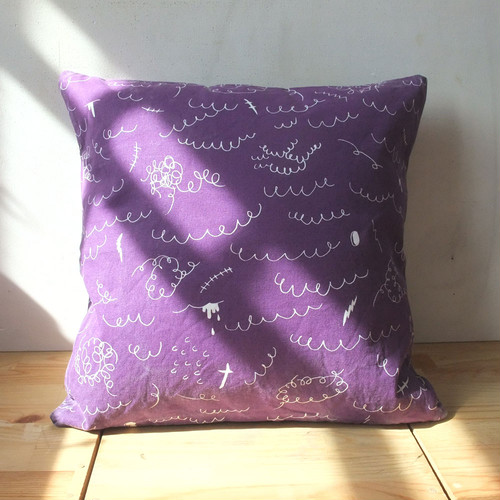 Wool 100% cushion cover 40x40cm