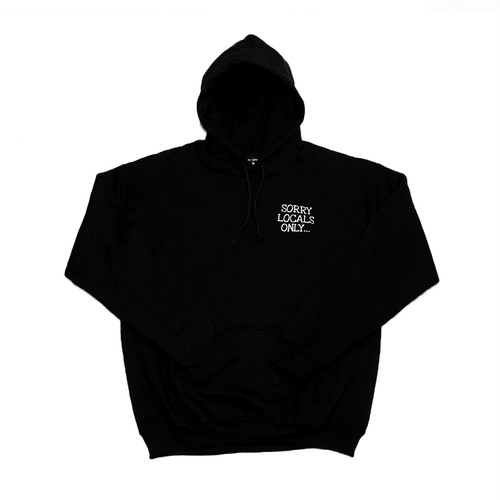 "WasHere as WWWTYO x RepMCD  ""SORRY LOCALS ONLY HOODIE"""