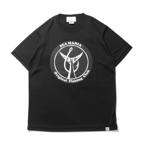 【Seamania】CIRCLE HOOK Dry UV Tシャツ [BLK]