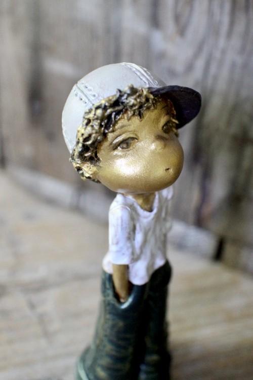 Pocket-cap boy