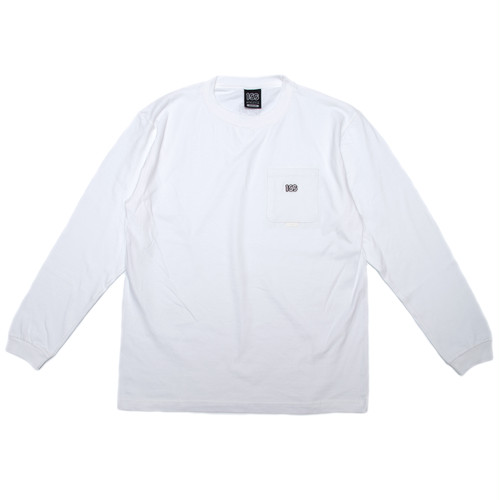 100A HEAVYWEIGHT L/S TOP WITH POCKET*