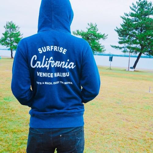 LACA denim hoodie - Indigo