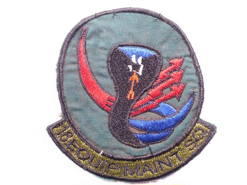 "OLD PATCH""18 EQUIP MAINT SQ"""