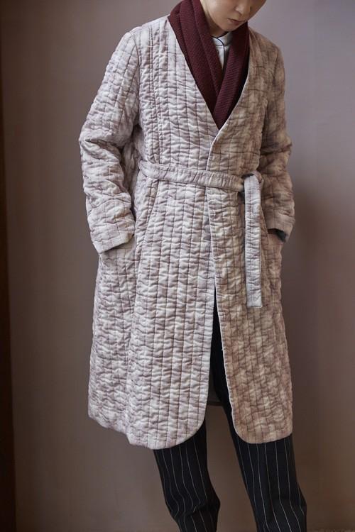 Diospyros Kaki Quilt Coat