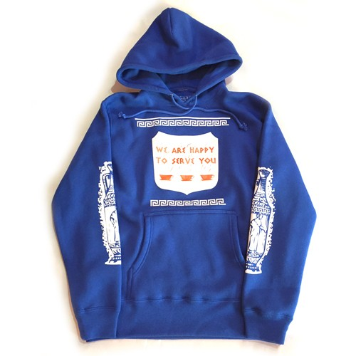 "FirstClass! ""SERVE"" PULLOVER HOODY"