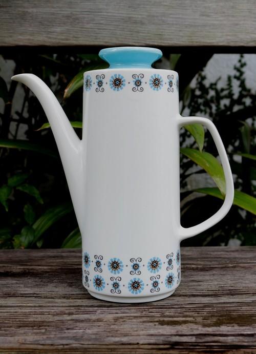 イギリス 1851年創業老舗陶器メーカー ミーキン MEAKIN  ポット ヴィンテージ