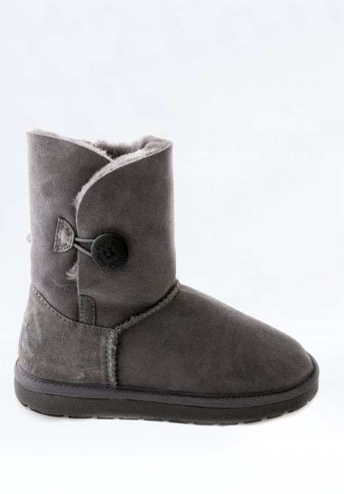 UGG Short Single Button Grey 送料込み