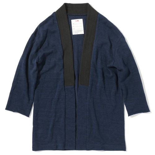 JAPONICATION CARDIGAN -NAVY