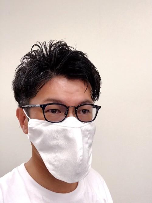 【LLサイズ】メガネマスク ホワイト