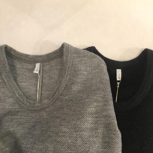 FIRMUM【フィルマム】URGUAY WOOL DOUBLE JACQUARD KARSEY Cut&sewn