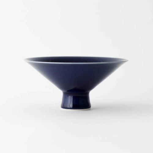 澄川伸一×坂本達也 コラボ作品 瑠璃茶碗