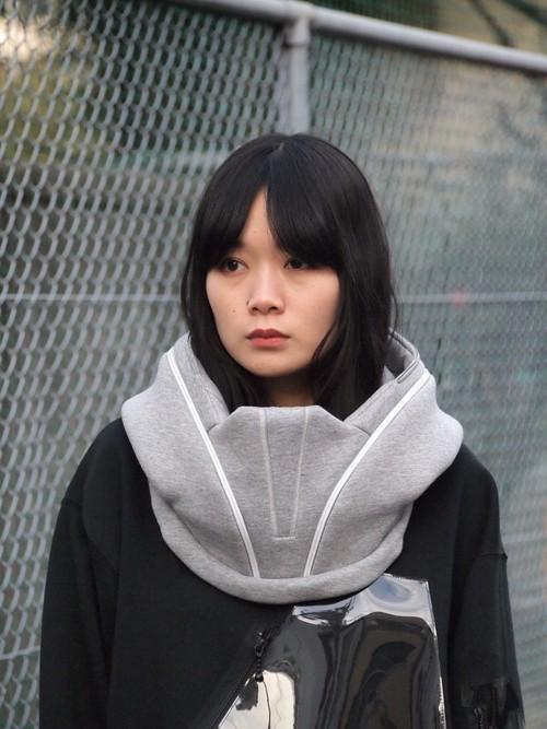 壱吾弐工機 第四 501式 フードマフラー(A) Grey