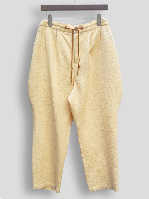 EASY JODHPURS JACQUARD Drost pants (YELLOW)