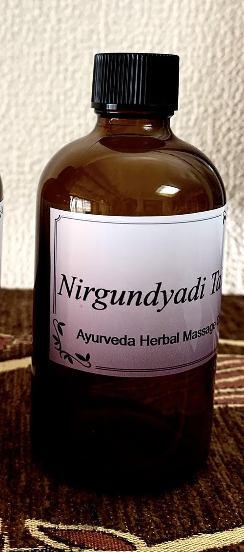 ニルグンディヤーディ 100ml 最高級品のアーユルヴェーダハーバルオイルをスリランカから直輸入
