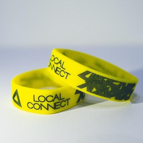 LOCAL CONNECT ラバーバンド (黄)