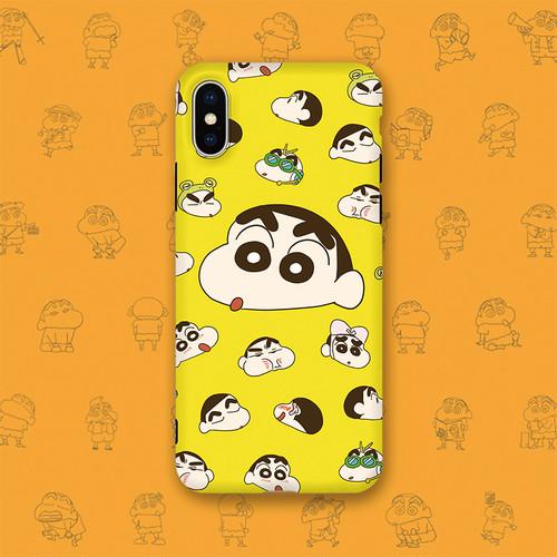 ORIGINAL iphoneXケース かわいい クレヨンしんちゃん iphone8plus保護カバー 大人気 オリジナルデザイン 男女兼用 アイフォン6sカバー