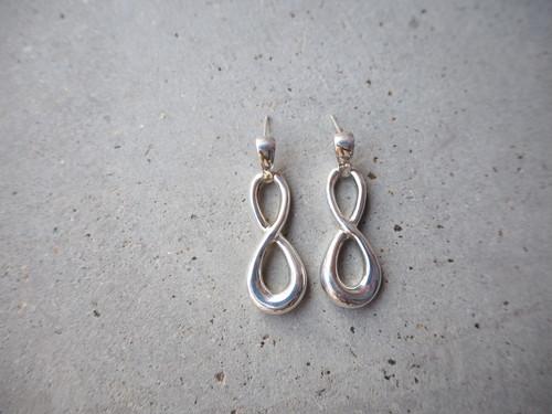 〈vintage silver925〉nejire ring pierce