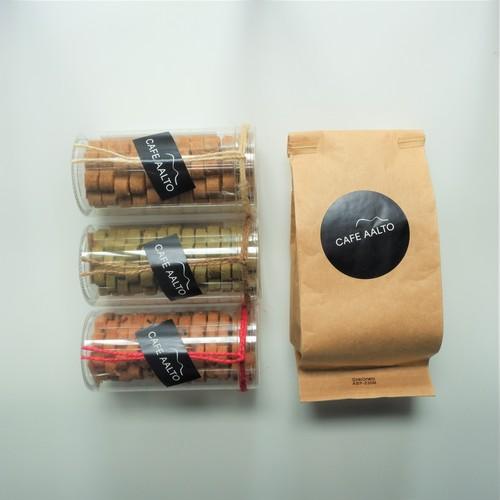 CAFE AALTO スペシャルティコーヒー(100g)& オリジナルクッキーセット