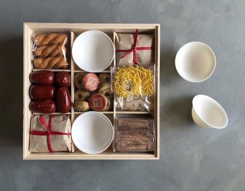 中国茶と中国菓子_霖