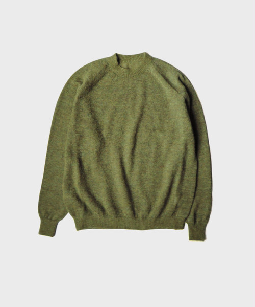 crepuscule exclusive mohair knit GREEN