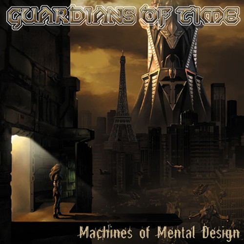 "GUARDIANS OF TIME ""Machines Of Mental Design""日本盤"