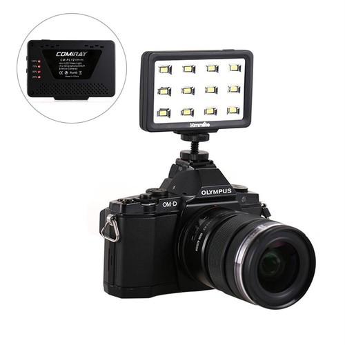 Commlite社 CM-PL12II   DSLR, GoPro, スマートフォン用小型LEDライト