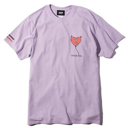 Deviluse(デビルユース) | miss you T-shirts(Lavender)