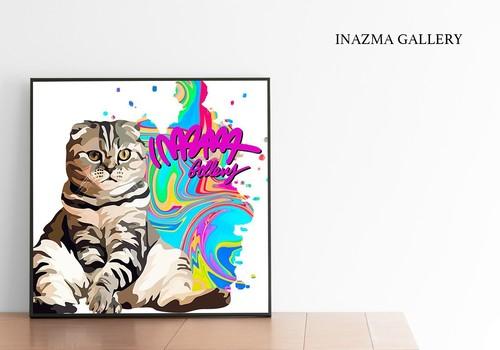 猫ちゃん似顔絵 600mm