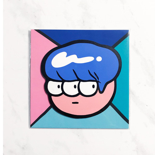FACE MAGNET -Blue-