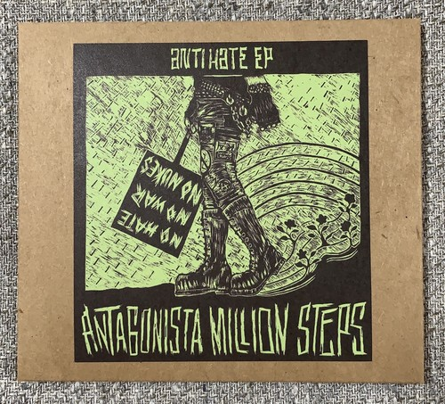 Antagonista Million Steps「Anti Hate e.p.」