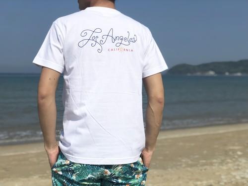 Los Angeles Tシャツ(white)