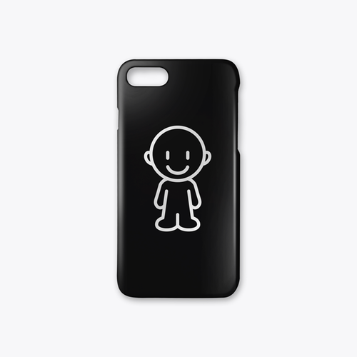 IDEAS/EeQ-Aec iPhone7case ブラック