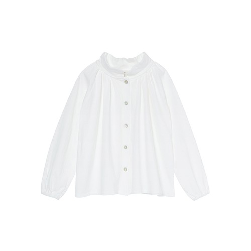 再入荷 benebene FRONT BUTTON SHIRRING T(6M,12M,18Mサイズ)