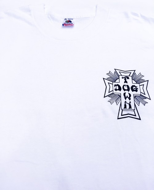 "DOGTOWN ""CROSS LOGO"" S/S Tee <Deadstock>"