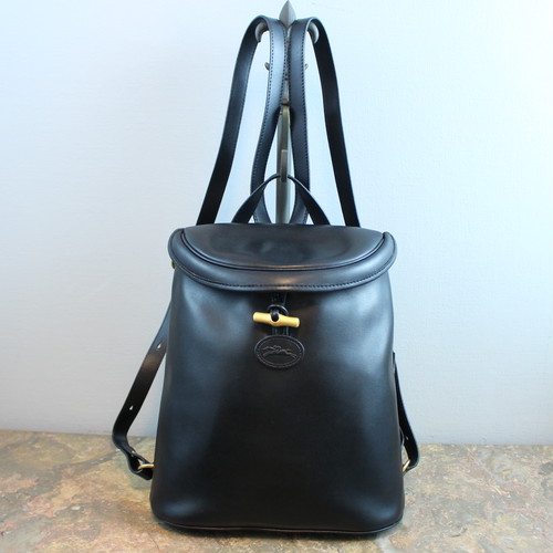 .LONGCHAMP LEATHER RUCK SUCK MADE IN FRANCE/ロンシャンロゾレザーリュックサック 2000000034270