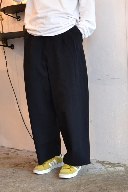 roundabout / Japanese Paper 2tuck Pants