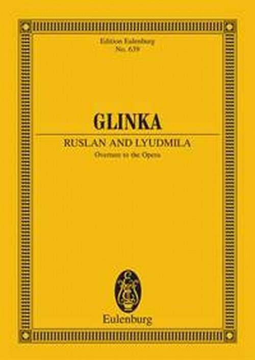 グリンカ:ルスランとリュドミラ 序曲:ミニチュアスコア