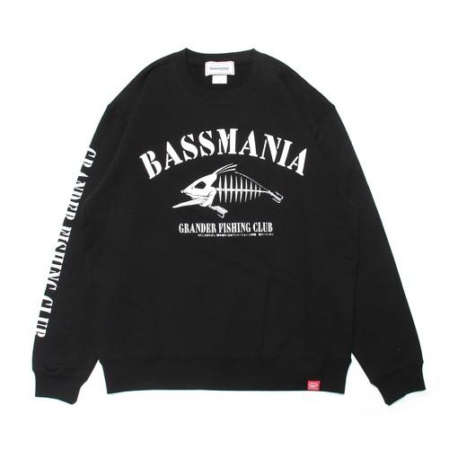 【bassmania×グランダー武蔵】スケルトンデザイントレーナー [BLK]【限定受注生産】【3月中~下旬配送】