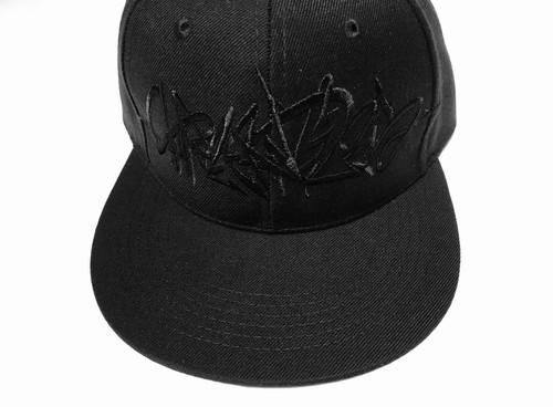 GRAFFITIART CAP ホワイト×ブラック