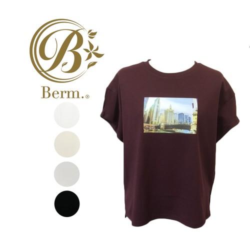 【春夏】フォト プリント デザイン Tシャツ【BM04T0141】