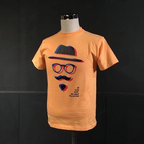 viVid Tシャツ(3Dオレンジ)