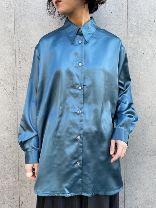 (TOYO) metallic l/s shirt
