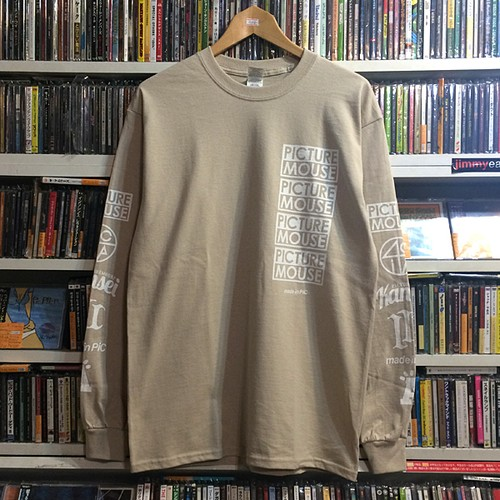 PICTURE MOUSE 2018 L/S Tsh (ベージュ)