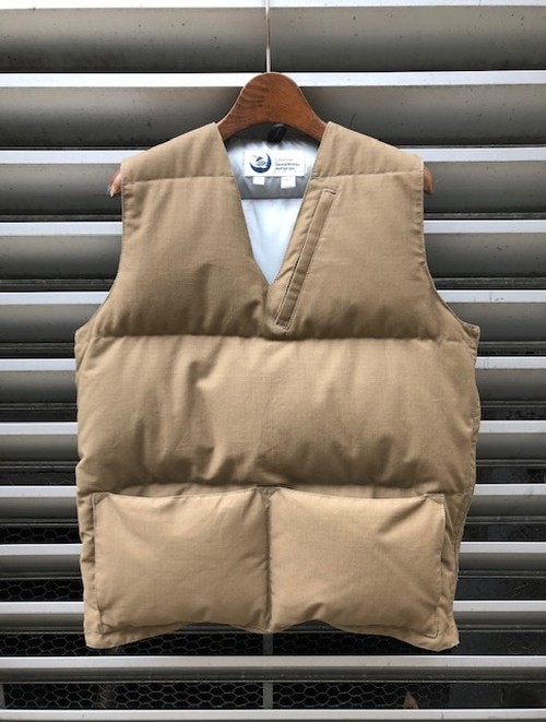 "CRESCENT DOWN WORKS×IVY&NAVY  別注 ""SIMPLE VEST"""