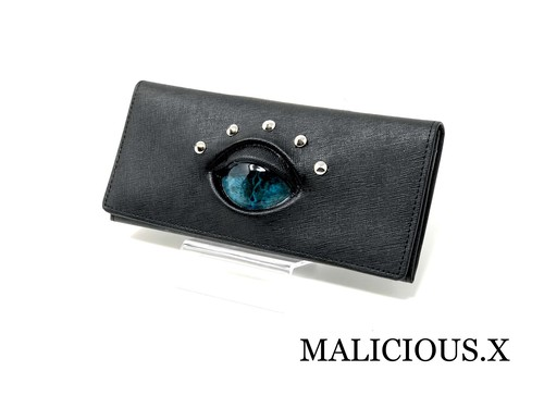 reptiles eye wallet / blue