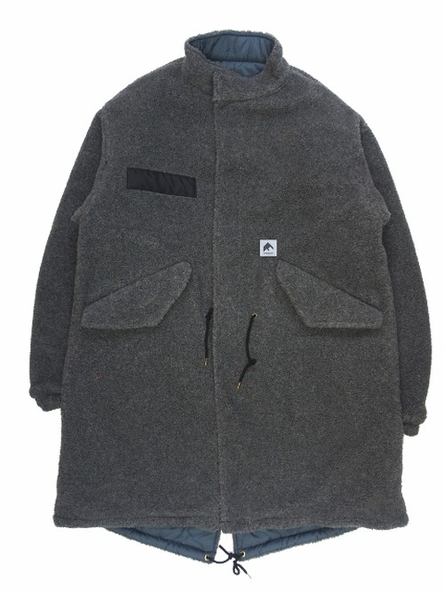 REVERSIBLE MODS COAT  GRAY×GRAY  18AW-FS-03
