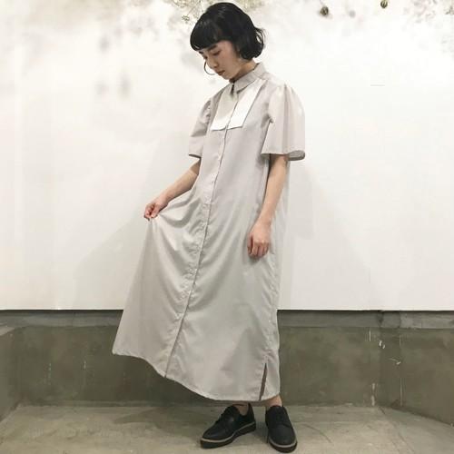 千里ロングシャツドレス